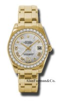 Rolex 18K Yellow Gold Model 81298MDR