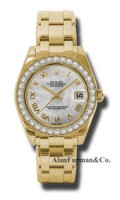 Rolex 18K Yellow Gold Model 81298MR