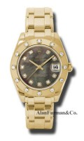 Rolex 18K Yellow Gold Model 81318DKMD