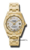 Rolex 18K Yellow Gold Model 81318MR