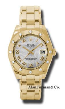 Rolex 18K Yellow Gold Model 81318MR