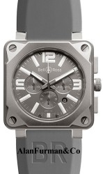 Bell & Ross Automatic 46mm Model BR01 94 Pro Titanium