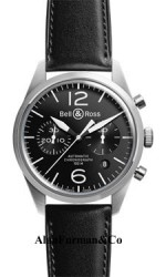 Bell-Ross-Automatic-Chronograph-41mm-Model-Vintage-BR-126-Original-Black