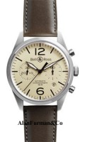 BellRoss-Chronograph-41mm-Model-Vintage-BR-126-Original-Beige