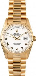 Rolex-Day-Date-18238-White-Roman