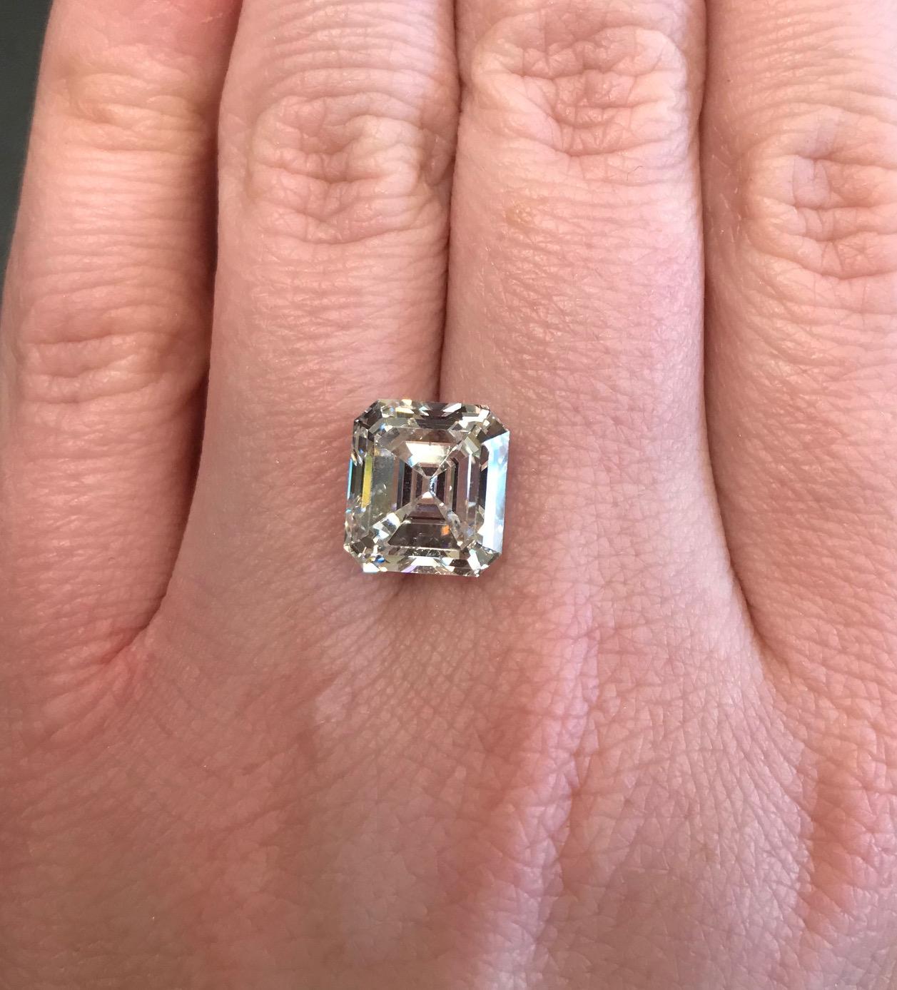 7.11 CTTW Emerald Cut Diamond - Alan Furman & Co